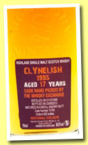 Clynelish 17 yo 1995/2013 (56.2%, Signatory for The Whisky Exchange, refill sherry, cask #12794, 622 bottles)