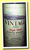 Clynelish 1983/1996 'Vintage' (40%, Vintage Malt Whisky Co. For VA.MA Italy)