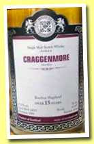 Cragganmore 15 yo 1999/2014 (53.3%, Malts of Scotland, bourbon hogshead, cask #MoS 14015, 247 bottles)