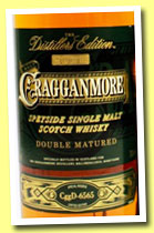 Cragganmore 2000 'Distillers Edition' (40%, OB, Port finish, CggD 6565, 2013)