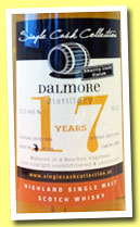 Dalmore 17 yo 1996/2014 (53.5%, Single Cask Collection, bourbon hogshead, sherry finish)