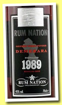 Demerara 23 yo 1989/2012 (45%, Rum Nation, Guyana)