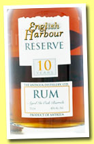 English Harbour 10 yo 'Reserve' (40%, OB, Antigua, +/-2013)
