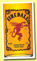 Fireball (33%, OB, cinnamon whisky, USA/Canada, +/-2014)