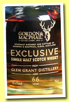 Glen Grant 66 yo 1948/2014 (46.6%, Gordon & MacPhail for Wealth Solutions, first fill sherry butt, cask #1369, 160 bottles)