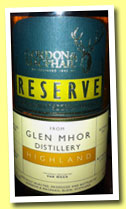 Glen Mhor 1966/2011 (52.1%, Gordon & MacPhail Reserve, Van Wees, First fill sherry butt, cask #3690, 133 bottles)