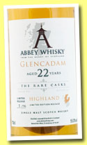 Glencadam 22 yo 1991/2014 (55.3%, Abbey Whisky, The Rare Casks, 96 bottles)
