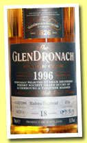 Glendronach 18 yo 1996/2014 (55.3%, OB for The Dram Brothers, Madeira hogsheads, cask #4766)