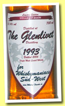 Glenlivet 1993/2006 (53.4%, Whisky-Fässle for Whiskymaniacs Süd-West, sherry)