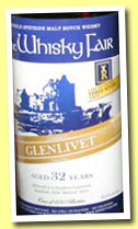 Glenlivet 32 yo 1978/2010 (52,9%, The Whisky Fair and Three Rivers Tokyo, bourbon hogshead, 250 bottles)