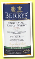 Glenlivet 37 yo 1974/2012 (46%, Berry Bros & Rudd for Whisky.com.tw, cask #5247)