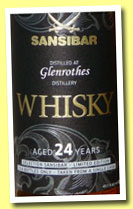 Glenrothes 24 yo 1990/2014 (49.8%, Sansibar, sherry, 121 bottles)