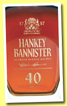 Hankey Bannister 40 yo (44.3%, OB, Scotch blend, 1480 decanters, 2013)