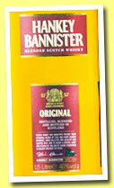 Hankey Bannister 'Original' (40%, OB, Scotch blend, +/-2014)