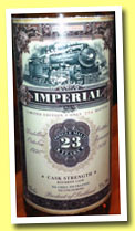 Imperial 23 yo 1990/2014 (55.7%, Jack Wiebers, Old Train Line, bourbon, cask #1360161, 354 bottles)