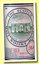 Isle of Jura 1972/1991 (55.5%, Scotch Malt Whisky Society, #31.4, 75cl)