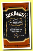 Jack Daniel's 'Master Distiller Series No.1' (43%, OB, Tennessee whiskey, +/-2013)