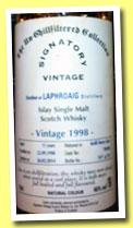 Laphroaig 15 yo 1998/2014 (46%, Signatory Vintage, Un-chilfiltered Collection, refill sherry butt, cask #700384, 797 bottles)