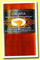 Lost Spirits 'Calafia' (58%, OB, American peated single malt, +/-2014)