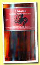 Lost Spirits 'Umami' (59%, OB, American peated single malt, +/-2014)