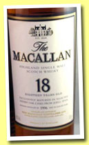 Macallan 18 yo 1996/2004 'Sherry Oak' (43%, OB)