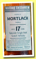 Mortlach 17 yo 1996/2014 (54.6%, Tasting Fellows, barrel, 294 bottles)