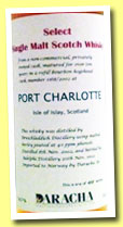 Port Charlotte 10 yo 2002/2012 (59.7%, Adelphi for Daracha, Norway, Rivesaltes finish, cask #1168, 488 bottles)