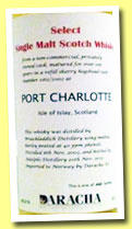 Port Charlotte 10 yo 2002/2012 (60%, Adelphi for Daracha, Norway, sherry hogshead, cask #1162, 442 bottles)