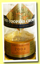 Port Charlotte 9 yo 2004/2014 (46%, The Coopers Choice, hogshead, cask #1032, 330 bottles)