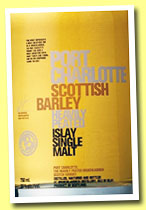 Port Charlotte 'Scottish Barley' (50%, OB, +/-2013)