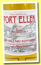 Port Ellen 17 yo 1970/1987 (62.4%, Gordon & MacPhail for Intertrade, 243 bottles)