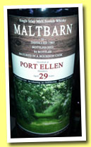 Port Ellen 29 yo 1983/2012 (52%, Maltbarn, bourbon, 86 bottles)