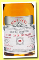 Port Ellen 30 yo 1982/2012 (51.8%, Douglas Laing, Platinum Old and Rare, 154 bottles)