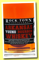 Rock Town 'Arkansas Young Bourbon Whiskey' (46%, OB, USA, +/-2014)