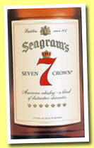 Seagram's Seven Crown (40%, OB, American blend, +/-2014)