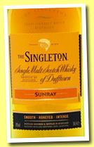 The Singleton of Dufftown 'Sunray' (40%, OB, 2014)
