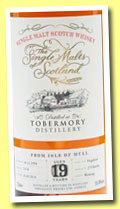 Tobermory 19 yo 1994/2014 (55.8%, Single Malts of Scotland, sherry, cask #5174, 279 bottles)
