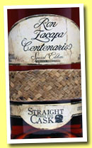 Zacapa 23 anos ' Centenario Straight from the Cask' (45%, OB, Guatemala, +/-2005)