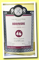 Bowmore 12 yo 2002/2014 (46%, Malts of Scotland, bourbon hogshead, cask #MoS 14012, 323 bottles)