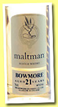 Bowmore 21 yo 1989/2012 (46%, The Maltman)