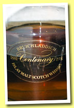 Bruichladdich 1965/1981 'Centenary' (43%, OB, decanter)