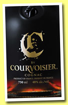 C by Courvoisier (40%, OB, blend, +/-2013)