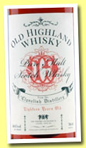 Clynelish 18 yo (50.6%, The Whisky Exchange for The Whisky Show London, 2014)