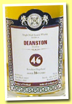 Deanston 16 yo 1997/2014 (46%, Malts of Scotland, bourbon hogshead, cask #MoS 14007, 242 bottles)