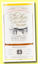 Glen Spey 25 yo 1988/2014 (49.1%, The Single Malts of Scotland, hogshead, cask #356077, 192 bottles)