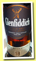 Glenfiddich 18 yo 'Small Batch Reserve' (40%, OB, 2014)