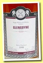 Glengoyne 1998/2013 (55.1%, Malts of Scotland, sherry hogshead, cask #MoS 13043, 238 bottles)