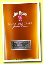 Jim Beam 12 yo 'Signature Craft' (43%, OB, Kentucky straight Bourbon, +/-2014)
