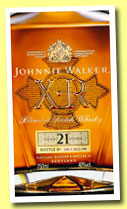 Johnnie Walker 21 yo 'XR' (40%, OB, blend, decanter, +/-2014)