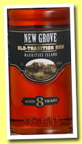 New Grove 8 yo 'Old Tradition' (40%, OB, Mauritius, +/-2014)
